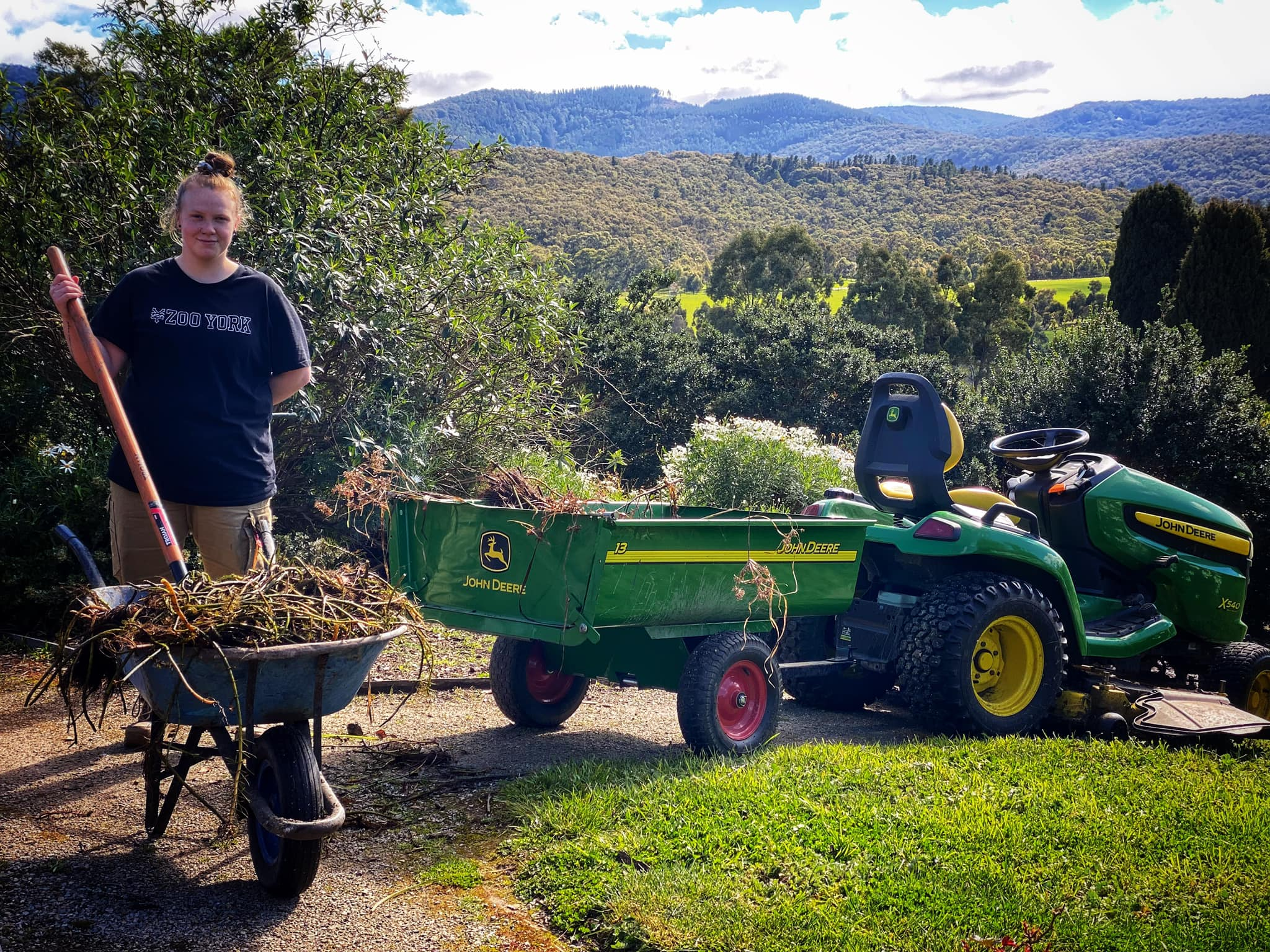 Wooling Hill Prepares for Spring